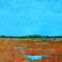 marshlands, Chesapeake, blues, grasses