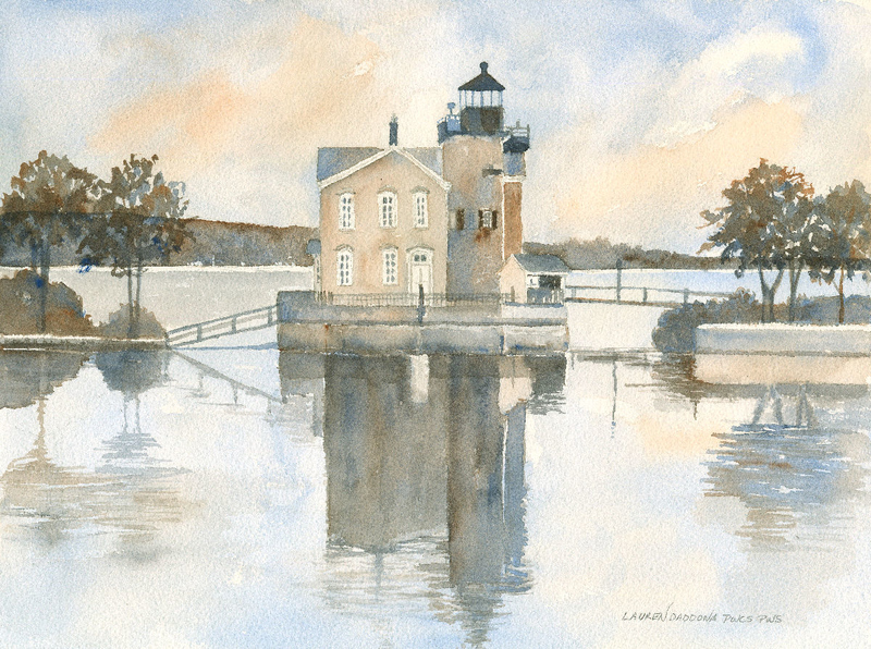 lighthouses, Hudson River, New York, Saugerties