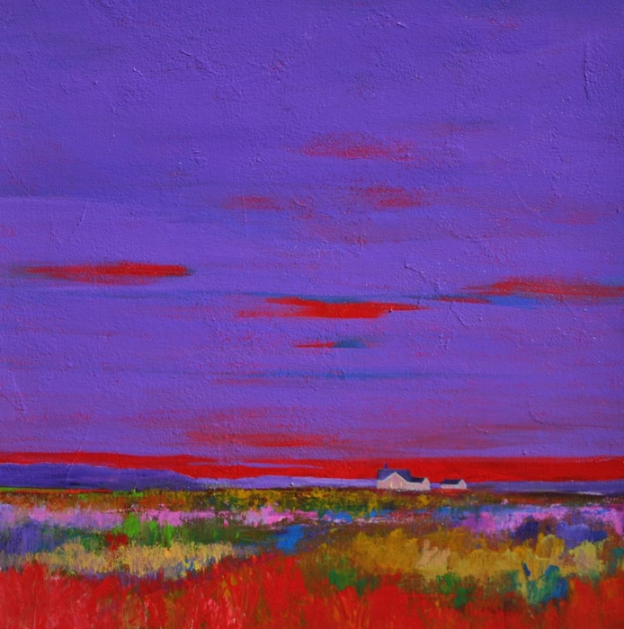 prarie, colorful, reds, purples, grasses, landscape