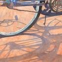 bikes, shadows, firestone