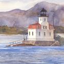 New York, Hudson River, Esopus Lighthouse, lighthouses